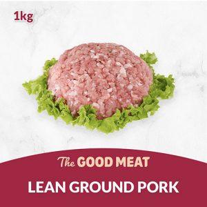The Good Meat Lean Ground Pork 1kg