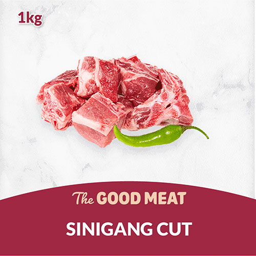 The Good Meat Sinigang Cut 1kg