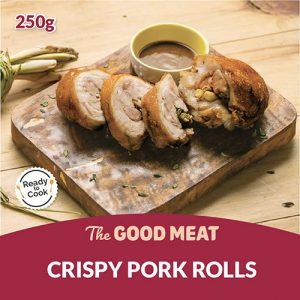 The Good Meat Crispy Pork Rolls