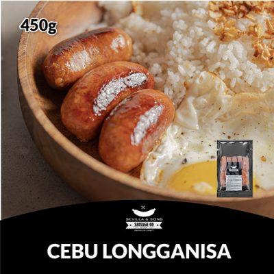 Sevilla & Sons Cebu Longganisa (450g)