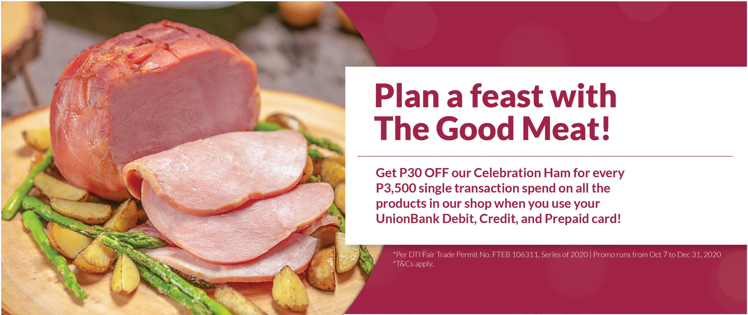 The Good Meat Plan a Feast Promo