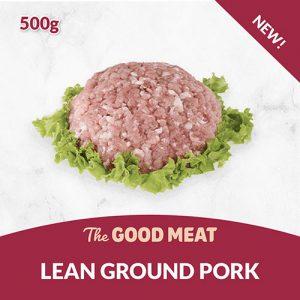 The Good Meat Lean Ground Pork 500g NEW!