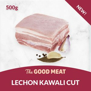 The Good Meat Lechon Kawali cut 500g NEW!