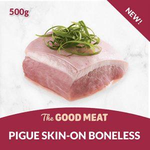 The Good Meat Pigue Skin-on Boneless 500g NEW!
