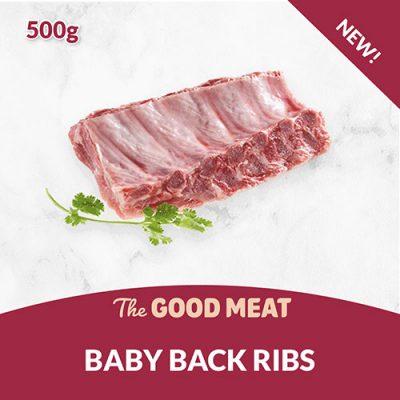 Baby Back Ribs (500g)
