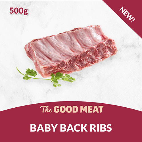 The Good Meat Baby Back Ribs 500g NEW!