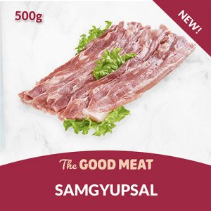 The Good Meat Samgyupsal 500g NEW!