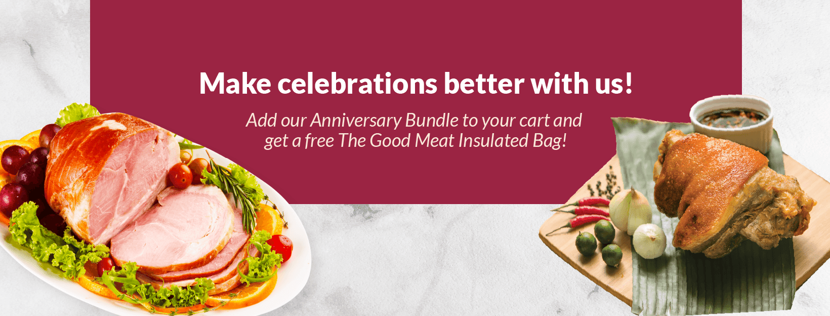 The Good Meat Anniversary Bundle Promo 2020