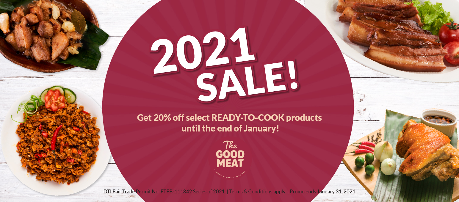 The Good Meat 2021 Sale